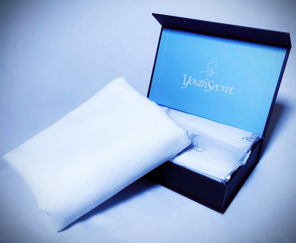 YouthSecret Open Box and Folded Pillowcase
